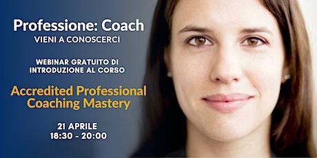 Professione Coach -  Introduzione al corso APCM biglietti