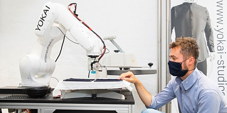 WORKSHOP: COBOT WITH A ROBOT - Mit dem Roboter ein Halstuch anfertigen Tickets