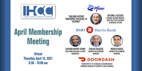 IHCC April Membership Meeting tickets