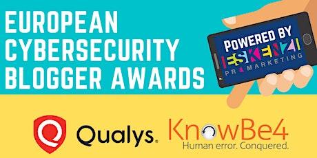 European Cybersecurity Blogger Awards 2021 tickets