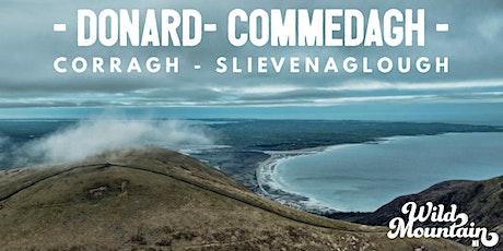 Donard, Commedagh, Corragh, Slievenaglogh alongside the Mourne Wall tickets