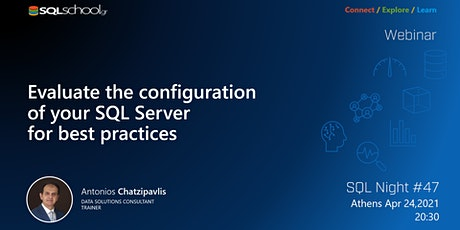 Evaluate the configuration of your SQL Server for best practices tickets