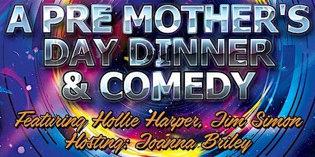 Dinner &Comedy tickets