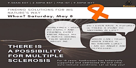 Finding Solutions for MS (Multiple Sclerosis) Nature's Way tickets