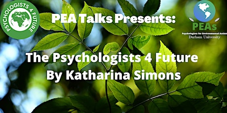 PEA Talks: Psychologists 4 Future tickets