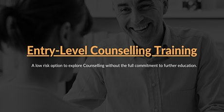 Entry-Level Counselling Training tickets