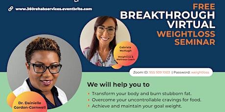 Free Breakthrough Weight Loss Seminar tickets