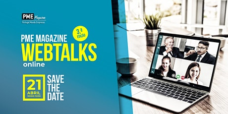 PME Magazine Webtalks (3.ª edição) ingressos