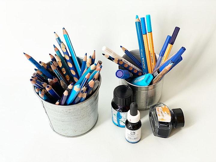 Online-Workshop | Thema: Blau | Für Erwachsene und Jugendliche ab 16 Jahren: Bild