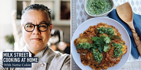 Cooking at Home with Nettie Colón: The Creole Cuisine of Puerto Rico tickets