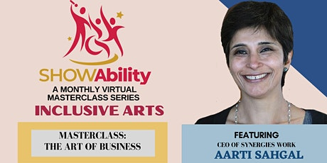INCLUSIVE ARTS: ART OF BUSINESS Tickets