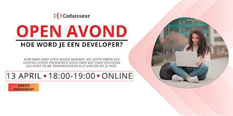 Codaisseur Academy   Nederlandse Open Avond Webinar tickets