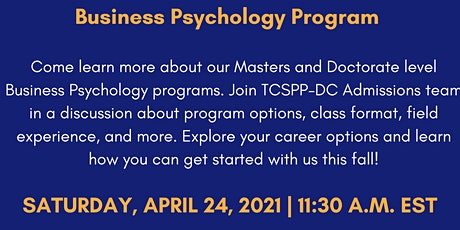 Business Psychology  Program Information Session tickets