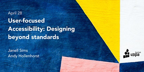 User-focused Accessibility: Designing beyond standards tickets