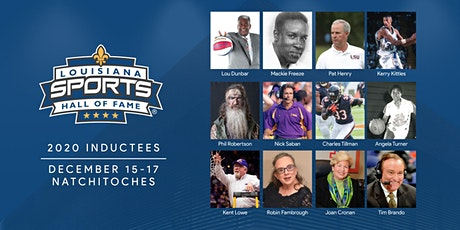 2020 Louisiana Sports Hall of Fame Induction Dinner & Ceremony tickets