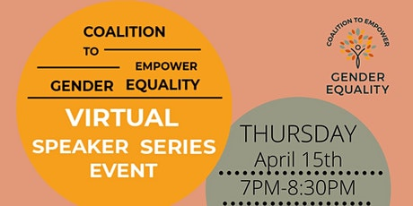 CEGE Speaker Series: Gender Equality and Climate Action tickets