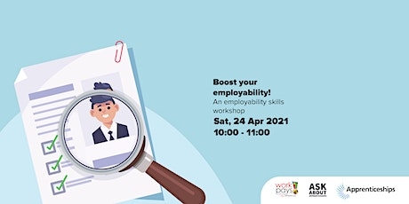 Boost your employability!  An employability skills workshop tickets