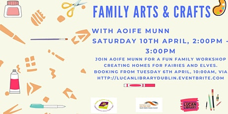 Family Arts and Crafts Workshop with Aoife Munn tickets