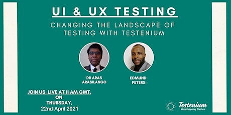= Testenium Live Webcast tickets