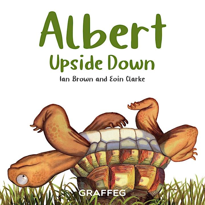 Albert Upside Down Virtual Book Launch image