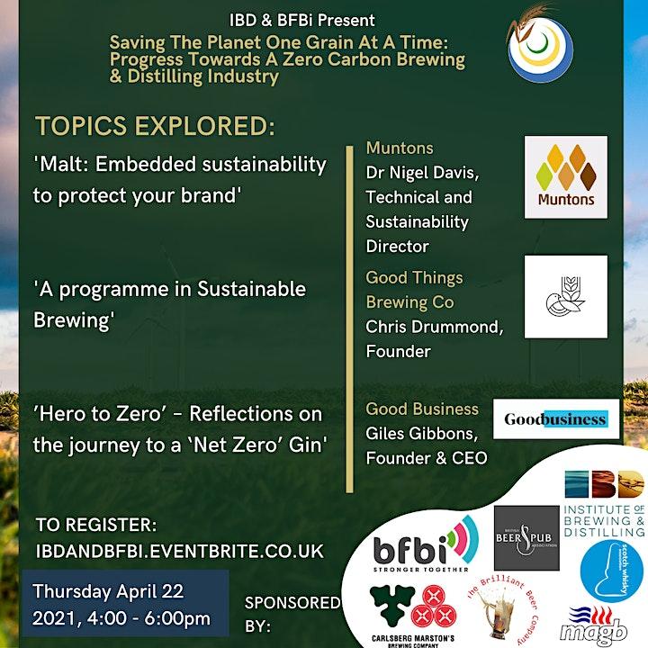 IBD & BFBi Present: Virtual Environmental Conference 2021 image