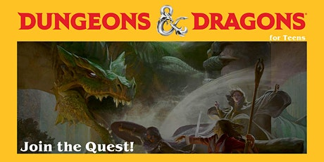 Virtual Dungeons & Dragons  for Teens tickets