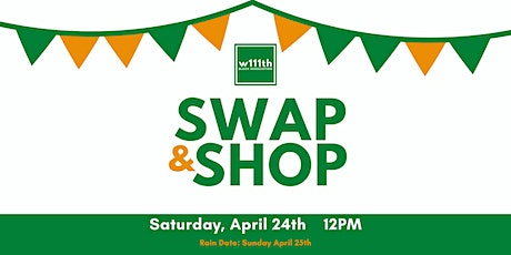 West 111th Street Block Association Swap & Shop tickets