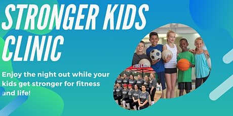 Stronger Kids Clinic tickets