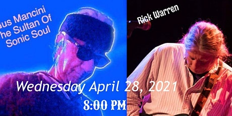 Gus Mancini and Rick Warren, April 28, 8 PM Live Stream tickets