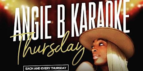 Angie B Karaoke Thursday tickets