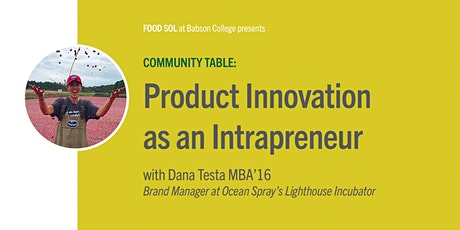 Community Table: Product Innovation as an Intrapreneur tickets