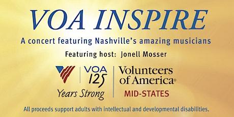 2021 VOA Inspire:  A concert featuring Nashville's amazing musicians tickets