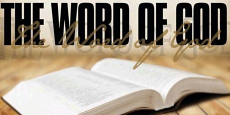 Bible Study:  Join us every Tuesday at 7:30 p.m. tickets