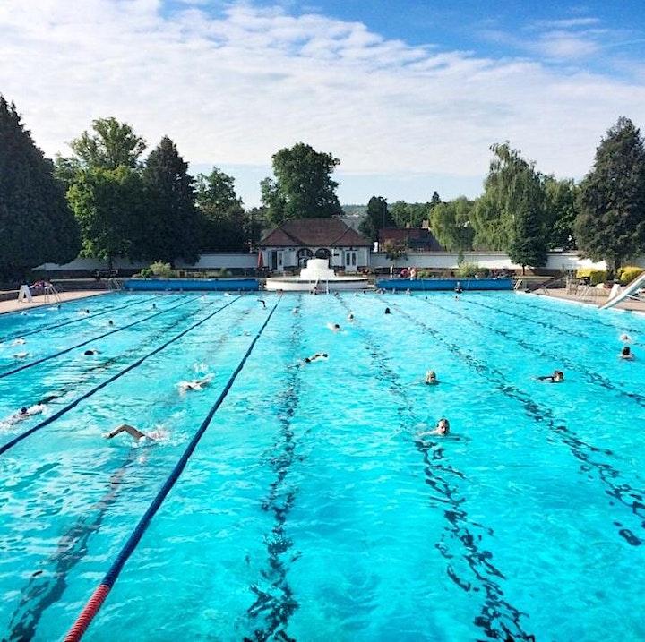 Sandford Parks Lido - Open Swim (Family Friendly) image