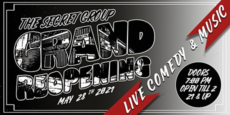 The Grand Re-Opening! tickets