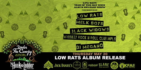 Low Rats - Year of The Rat MMXX - Album Release Party tickets