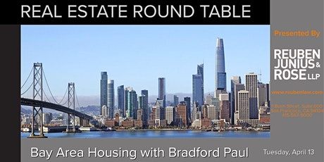 Bay Area housing challenges and opportunities  - Q&A with Bradford Paul tickets