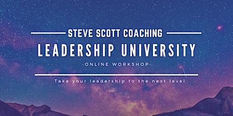 Leadership University tickets