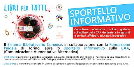 I libri per tutti > Sportello informativo CAA online biglietti