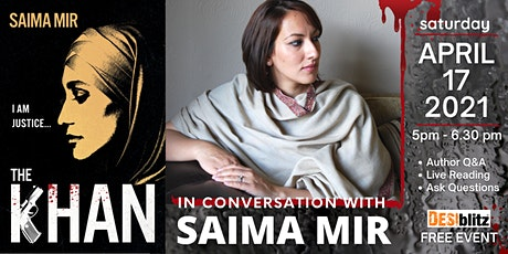 In Conversation with SAIMA MIR (Author of The Khan) tickets