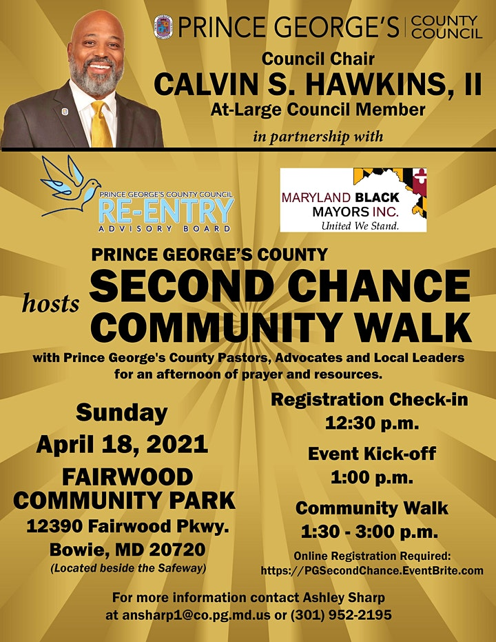 Second Chance Community Walk image