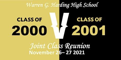 """Warren G. Harding Class of 2000 """"Verzuz"""" Class of 2001 Reunion tickets"""