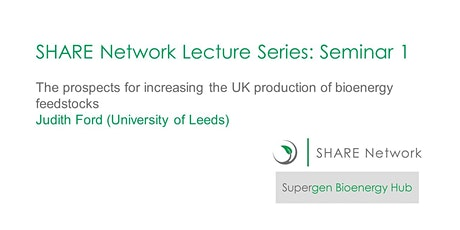 SHARE Lecture Series: Seminar 1 tickets