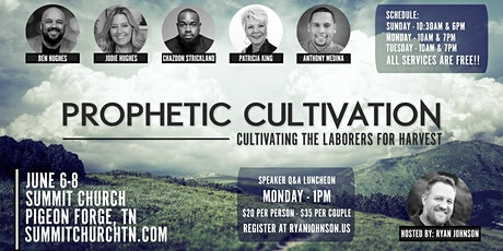 Prophetic Cultivation 2021 - Cultivating the Laborers for Harvest tickets