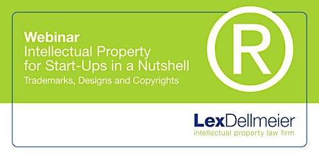 IP for Start-Ups: Trademarks, Designs and Copyrights (ENGLISH) biglietti