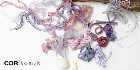 A colourful new story #natural dyes tickets