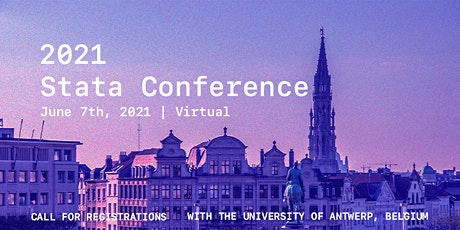 2021 BELGIAN STATA CONFERENCE tickets