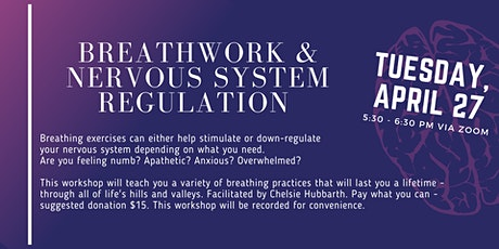 Breathwork and Nervous System Regulation tickets