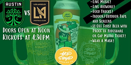 Austin FC vs. LAFC Watch Party @ Hopsquad Brewing tickets