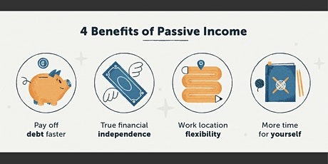 Webinar:How to Build Passive and Residual Income tickets